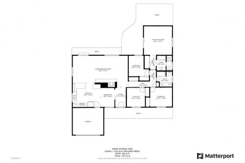 Floorplan 1449 Hollenbeck Ave Sunnyvale