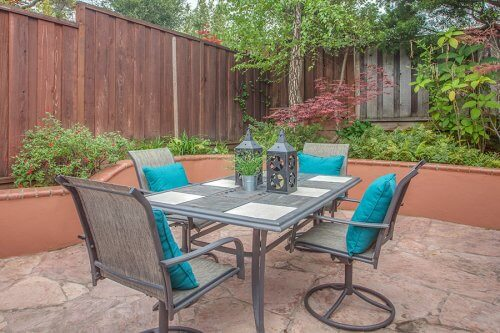 Private Patio - 1450 Highland View Court