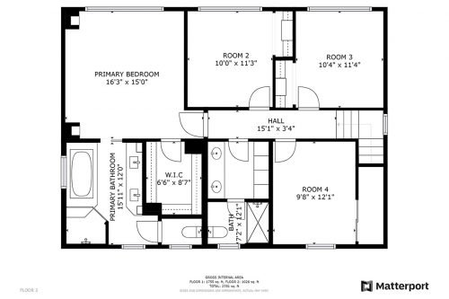 Floorplan 1310 Bright Oaks Ct Los Altos