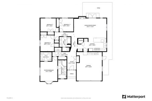 Floorplan 1633 Montalto Dr Mountain View