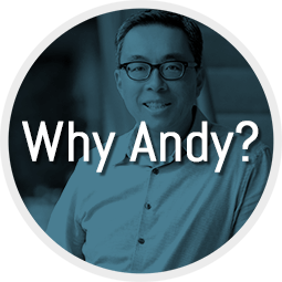 Why Andy Wong?